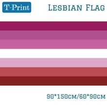 Free shipping 60*90CM Banner Flying 150*90cm Flag Lesbian Pride LGBT