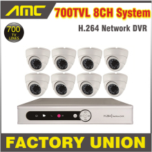 8ch CCTV DVR System 700TVL CCTV Security DVR Security Camera Night Vision System CCTV Kit 8 Channel Video Surveillance System