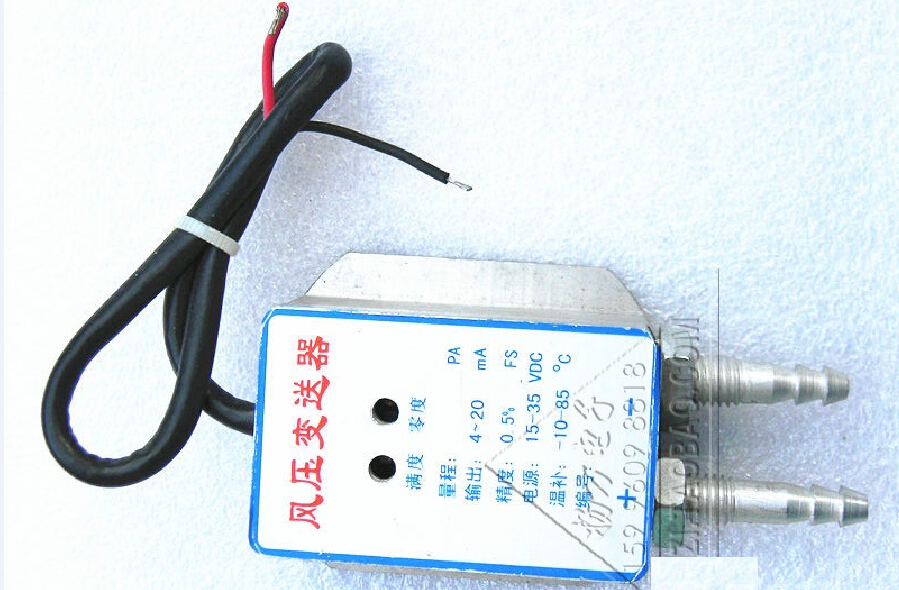 ФОТО 0~300Pa  4 ~ 20mA two-wire   0.25%FS  air  differential pressure sensor transmitter (imported parts)
