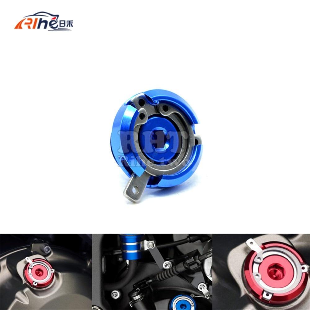 2016 motorcycle Aluminum engine oil cup  M20*2.5   FOR HONDA CB1000R CBF1000  CB1100 GIO KAWASAKI ER-6N/F 04-16 YAMAHA T- MAX500 aluminum water cool flange fits 26 29cc qj zenoah rcmk cy gas engine for rc boat