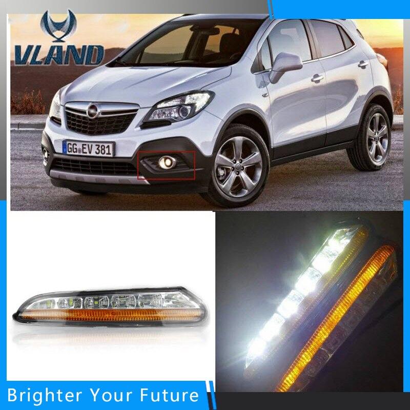 Влан автомобиля Водонепроницаемый дневного света DRL для Buick Encore с 2012 2013 2014 2015 /Опель внешние огни