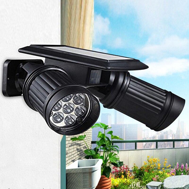 14 LED Waterproof PIR Motion Sensor Solar Powered Light ,led solar lights Garden Security Lamp Outdoor Street
