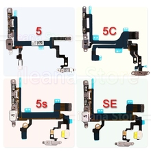 Original For iPhone 5 5C Mute Button Volume Power Flex Cable