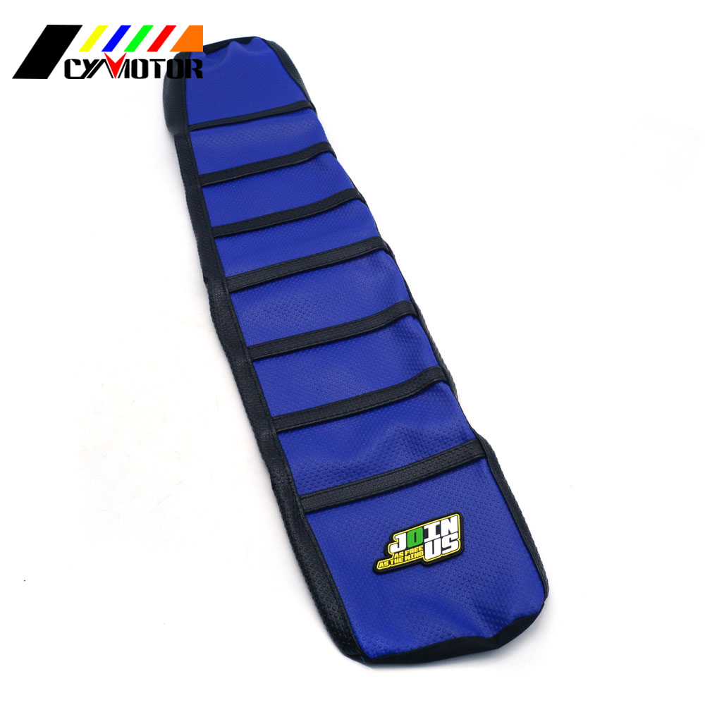 Motorcycle Leather Gripper Soft Seat Cover For Yamaha