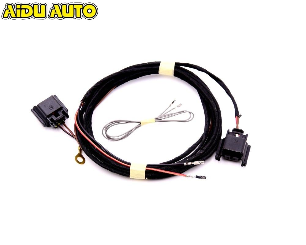 AIDUAUTO Fog Light Cable Lamp Lighting harness For VW Golf 7 MK7 VII
