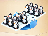 Funny balance penguin Toys for party birthday gift for kids boys children Desk Table Interactive
