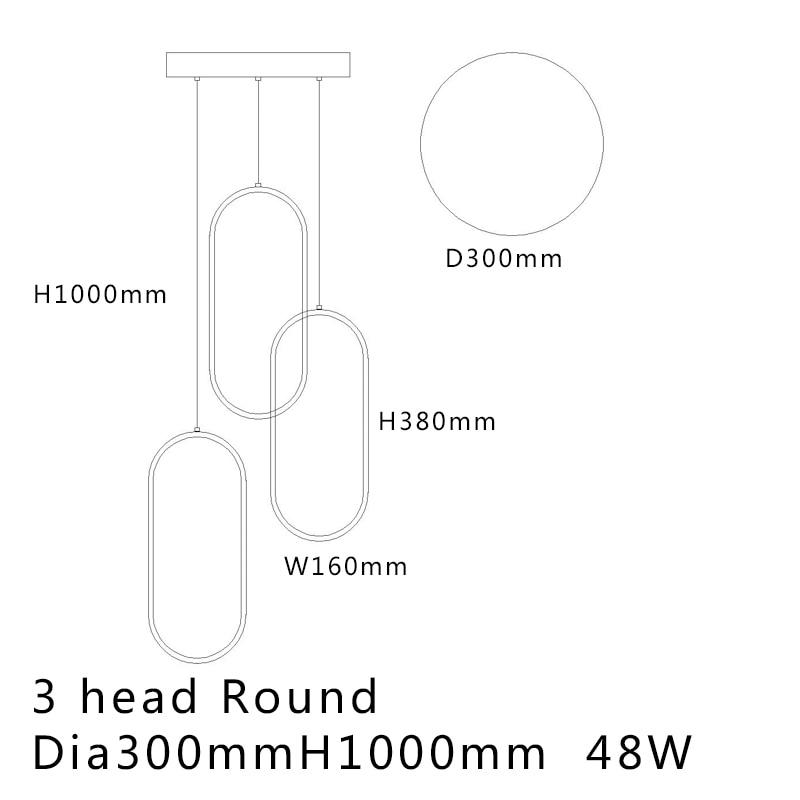 3 Heads Dia300mm