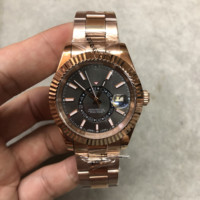 2019best selling Top High Quality watches m326935 0007 42MM black dial Automatic Mechanical Movement stainless steel men's watch