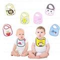 3 pcs/lot Baby Bibs Waterproof Towels Newborn Bandana Cotton Bib Accessories Free Shipping