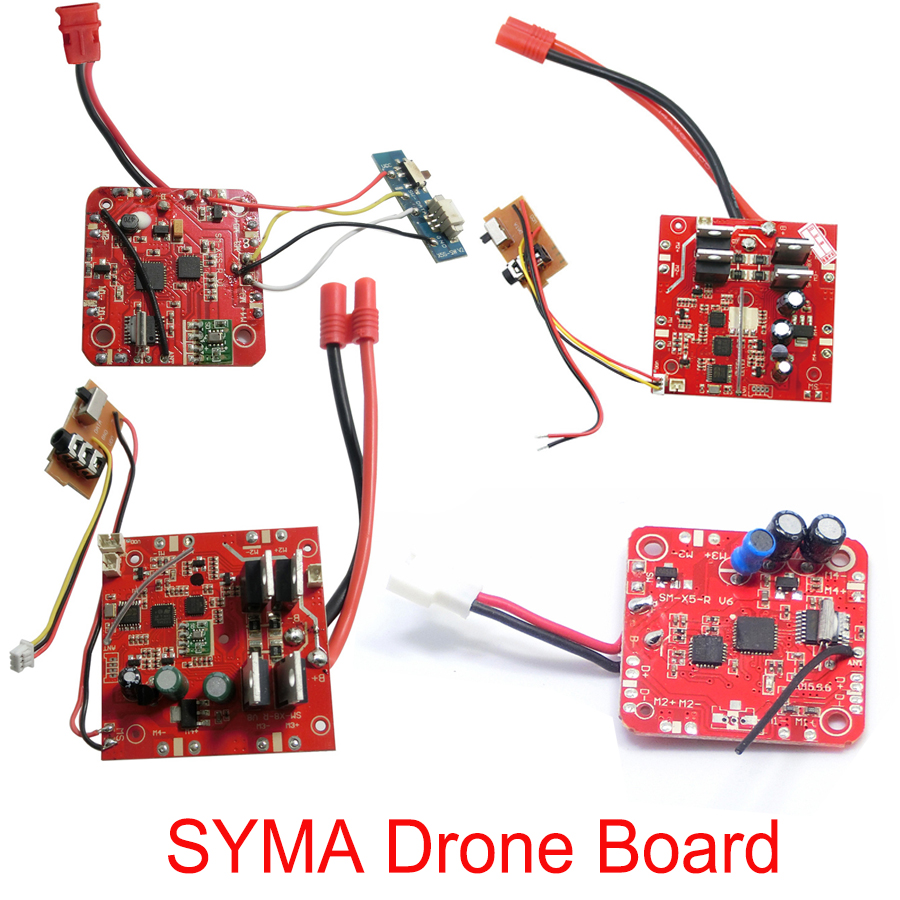 SYMA Drone Main Parts PCB Circuit Receiver Board X5C X5SW X5HC X5HW X8C X8W X8G X8HC X8HW X8HG Accessories mobile phone holder clip mount for syma x5c x5sw x5hw x8hw x8w x8c x8g quadcopter parts accessory drone spare parts