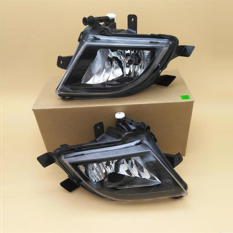Car Light For VW Jetta MK6 Facelift Sedan 2015 2016 2017 Car-Styling Front Halogen Fog Lamp Fog Light With Bulb right side for vw polo vento derby 2014 2015 2016 2017 front halogen fog light fog lamp assembly two holes