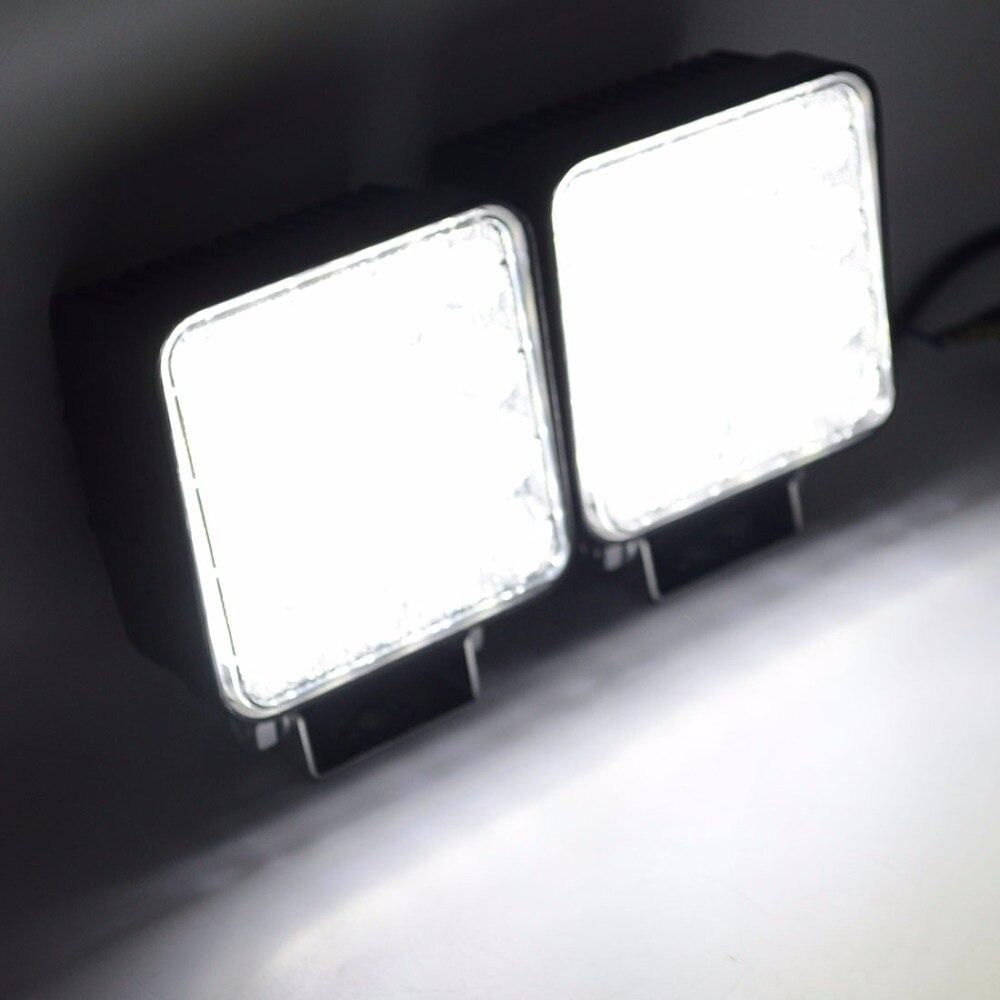 Safego 2X 4 Inch 48W LED işiq işıq lampası Göstəricilər Qayıq - Avtomobil işıqları - Fotoqrafiya 5