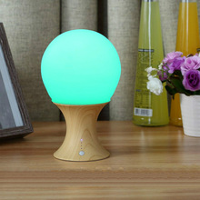 Multicolor LED Night Lamp, Silicone Light Ball and Mushroom Variable Appearance, Baby/Kids Table Desk Lamp