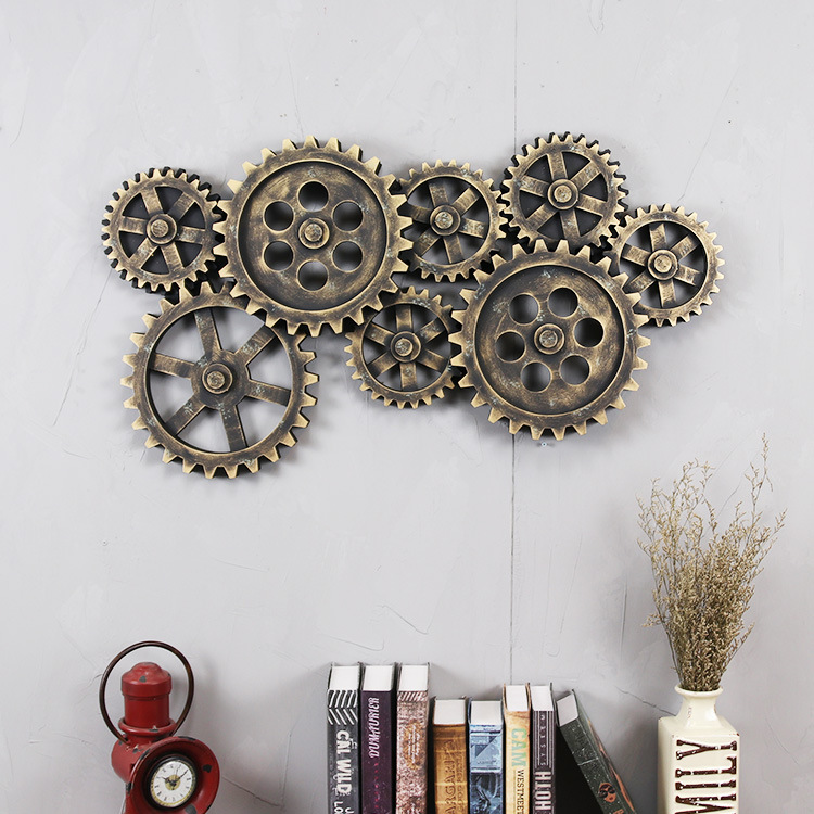 Gear Wall Decor popular industrial wall decor-buy cheap industrial wall decor lots
