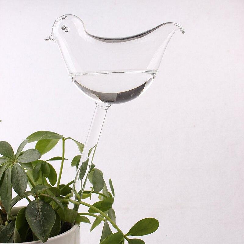 Self-Watering Plants Flower Water Bulbs Animal Shape Glass Garden Watering Decor