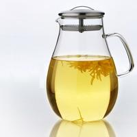 2.0L SuperLarge Iced Water my Bottle Heat resistant Glass Juice tea set infuser Health Life House Decoration Jug beer