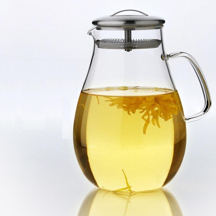 2.0l сверхбольшие, водяная моей бутылки термостойкие Стекло сок чайный сервиз для заварки здорового образа жизни украшение дома кувшин пива