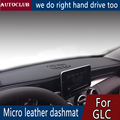 Für Mercedes Benz GLC Klasse GLC200 GLC220 GLC300 GLC260 Leder Dashmat Dashboard Abdeckung Pad Dash Matte Sonnenschirm teppich 2015  2019| |   -