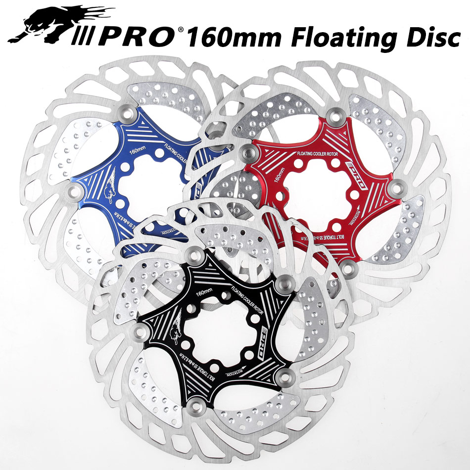 Mountain Bike MTB DH 6inch 160/180/203mm cooling Disc Heat dissipation Brake Rotor Down hill Floating bicycle Brake rotor IIIPRO-in Bicycle Brake from Sports & Entertainment