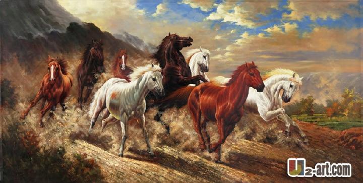 Popular Race Horse Paintings-Buy Cheap Race Horse