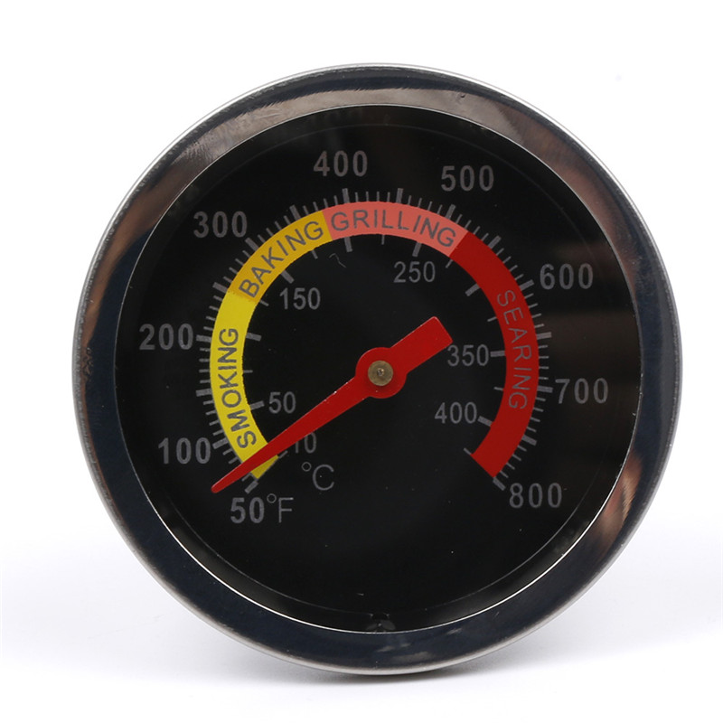 Outdoor Barbecue Thermometers Dial Display BBQ Grill Temp Gauge Meat Temperature Meters Kitchen Household Thermometers