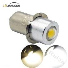 цены 1PCS P13.5S PR2 High Power 1W COB LED Upgrade Bulb for Maglite AC4.5V 6V 12V Led Conversion Kit for C/D Flashlights Torch
