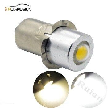 P13.5S PR2 High Power 1W COB LED Upgrade Bulb for Maglite AC4.5V 6V 12V 3-18V 5-24V Led Conversion Kit for C/D Flashlights Torch