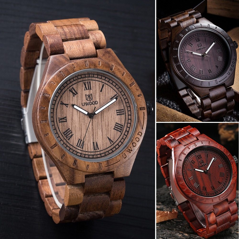Handmade Wooden Watch Men Women Watch Fashion Brand Japan Movement Fashion Quartz Wood Watch Antique Casual Watches 2016 Relogio dwg brand new wooden watch japan quartz movement rhinestone ladies fashion brown wrist watches women cherry wood clock with box