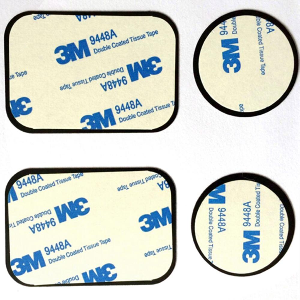 Recambio placa metal adhesivo para soporte magnético