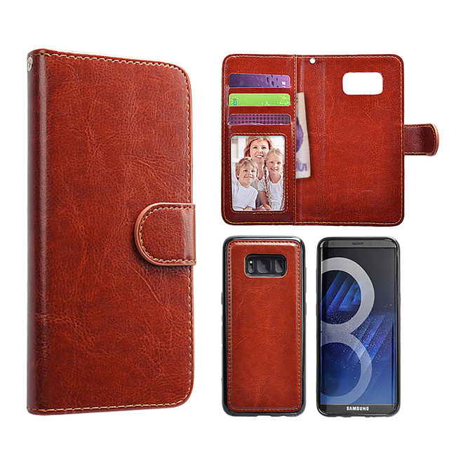 For Samsung NOTE 10+ Case Flip Cover 2 in 1 Detachable Wallet PU Leather Case For S8 Plus S9 S9+ S10 S10 +  S10E NOTE 9/NOTE 10+