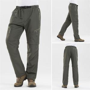 Image 4 - Outdoor Sport Detachable Pants Shorts Women Men Summer Hiking Pants Waterproof Quick Dry Cargo Pants Climbing Trekking Trousers