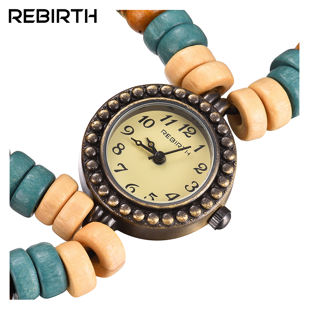 REBIRTH lyx märke klockor kvinnor antik stil Ladies Watch mode vattentät kvarts klockor kvinnor mode klocka 2016 klocka
