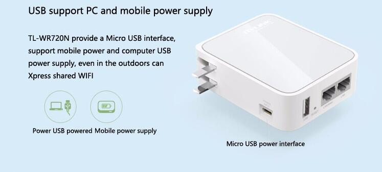 US $35 29 |TP LINK Mini Wifi Router 150M TL WR720N WIFI Signal Amplifier  Access Point WIFI Extender Wireless Amplificador Wifi Repeater-in Wireless
