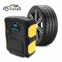 Digitalanzeige Aufblasbare Pumpe Auto Auto Reifenfüller 12 V Elektroauto Luftkompressor Pumpe mit LED-Licht
