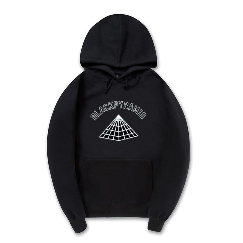 4am Brand Chris Brown Black Pyramid Hip Hop Hoodie Men And Women Sweatshirts Skateboard Street Style Cotton Tracksuit Hoodies Men's Clothing