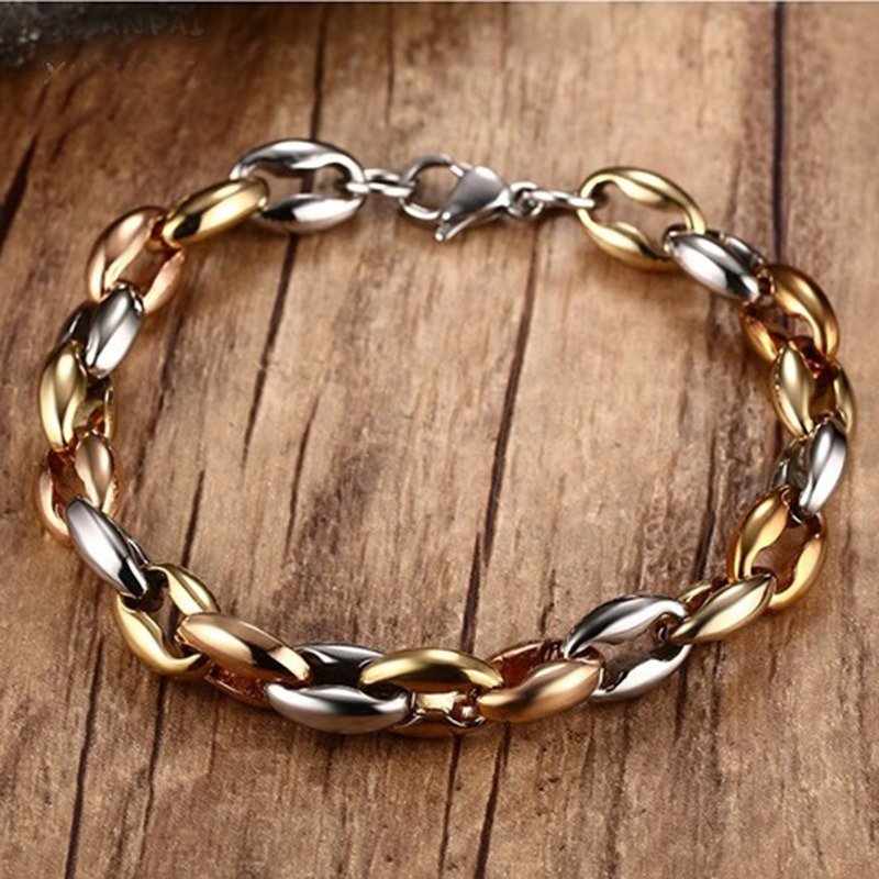 Mens Jewelry Two Tone...