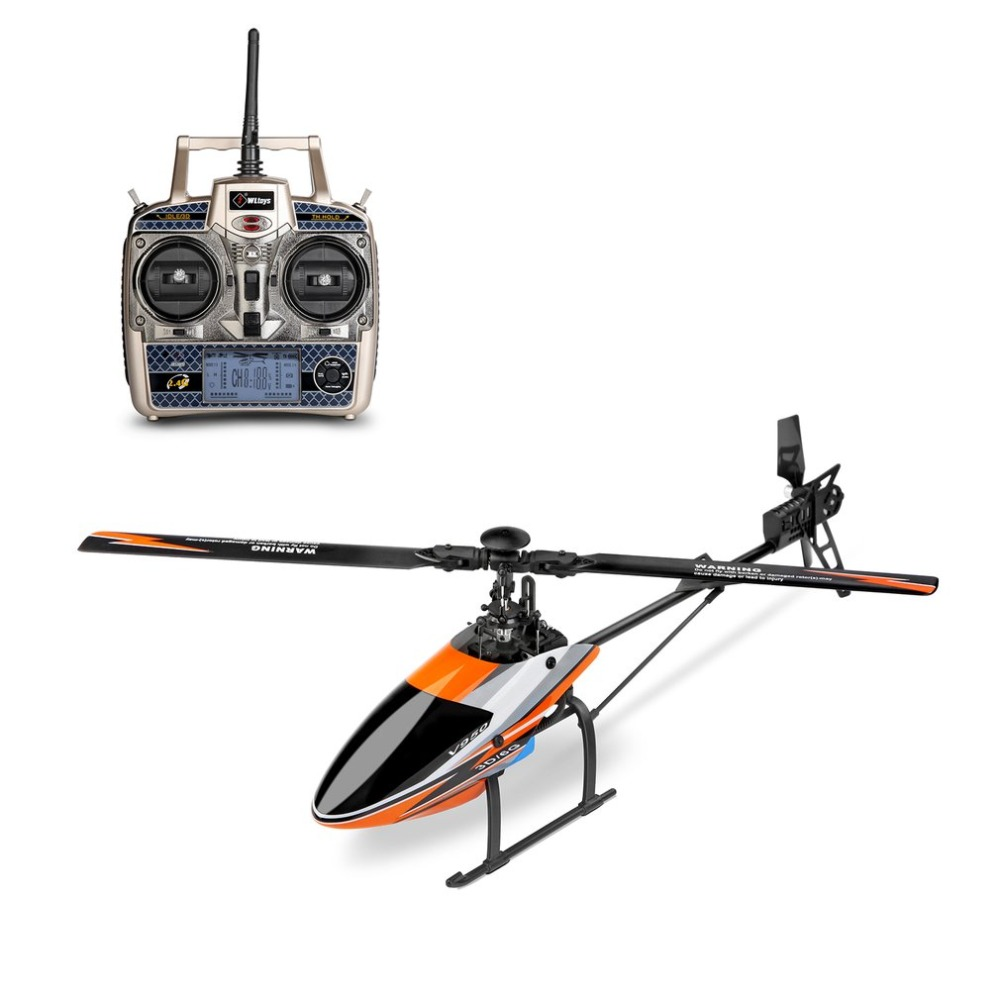 WLtoys V950 RC Drone 2.4G 6CH 3D/6G System Switched Freely Efficiency Brushless Motor RTF RC Helicopter Stronger Wind Resistance