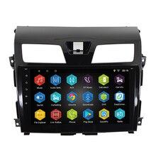 "10.2 ""Android 7.0.0 araba radyo GPS navigasyon için nissan teana altima 2013 2014 2015 1G 16G direksiyon kontrol"