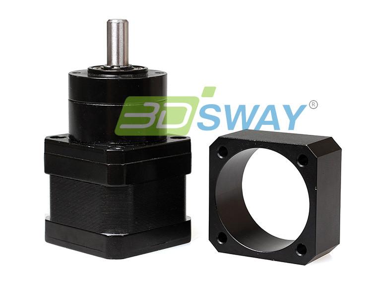 3D Printer Parts Transition Block for 42 Planetary Geared Motor E3D J-head Bulldog Extruder Bracket (4)