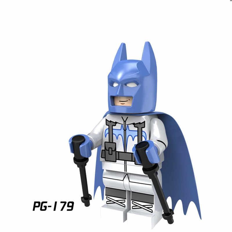 LEGOing Robin X-Men Dc Super Heroes Batman Joker Harley Quinn Veneno Building Blocks Brinquedos Deadpool Legoinglys