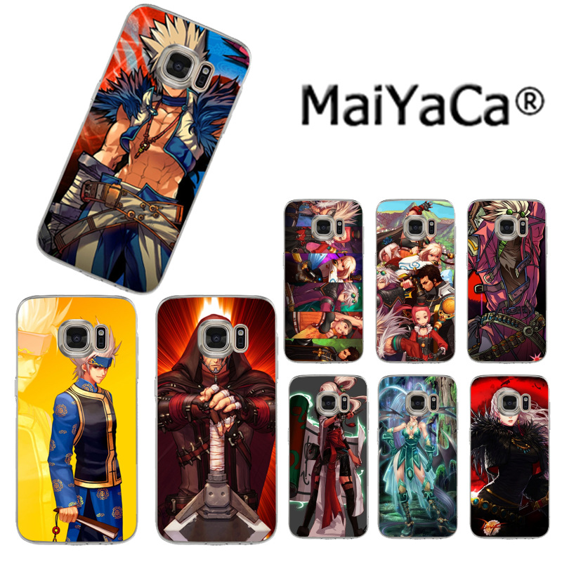 MaiYaCa Game Dungeon Fighter Online Colorful Phone Accessories Case for Samsung S3 S4 S5 S6 S6edge S6plus S7 S7edge S8 S8plus