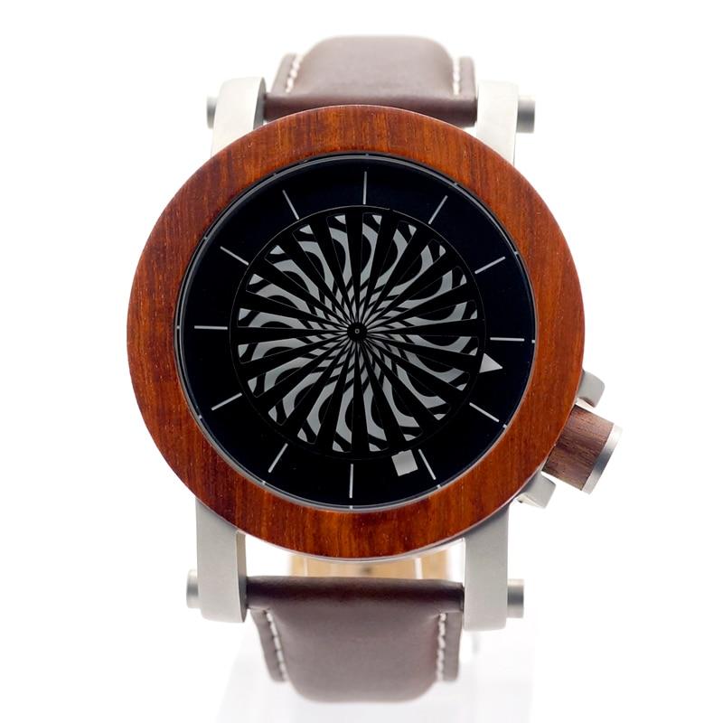 Luxury Brand Watches 2017 BOBO BIRD Mechanical Watches Men Wood Wristwatches Genuine Leather Strap relogio masculino C-M20 2017 bobo bird brand luxury watch men genuine leather band outdoor casual wristwatches relogio masculino gifts c c20