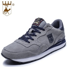 Hot Sale Casual Shoes Men Breathable Genuine Leather Shoes Male Lightweight Soft Sole Comfortable Shoes Size 38-44 AA20522