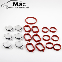 Set Of 6 X 33mm OEM Design By Aluminum For BMW Swirl Flap Blanking Plates Seal