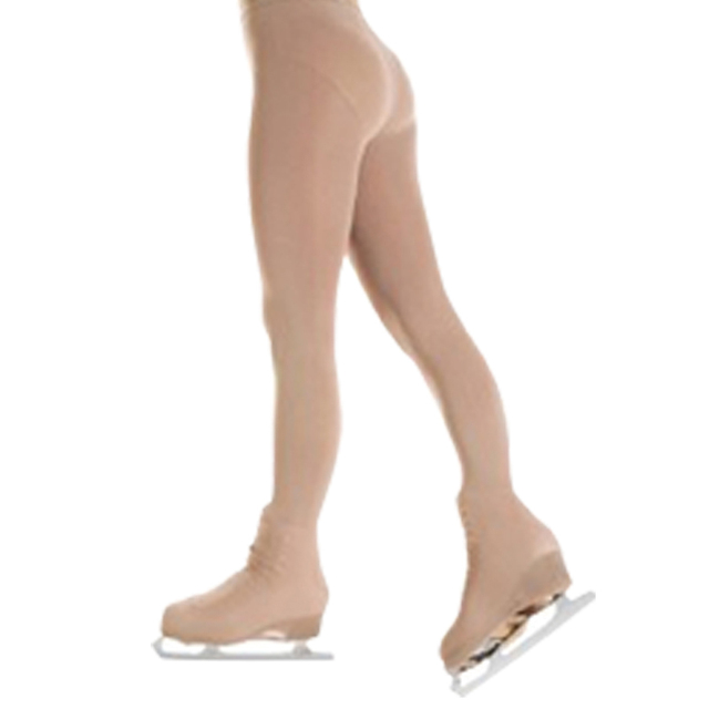 Marca De desconto Alta Qualidade Bronzeado Sobre A Bota Figura Patinação Collants Grossos DBT20
