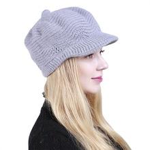 Rojo gris negro punto gorros mujeres niñas Casual Hip Hop sombrero Bonnet  Femme Beanie Skullies otoño sombreros de invierno para. b61ce2f1f0c