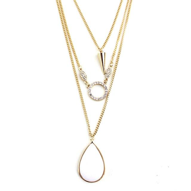 Купить женское ожерелье в стиле панк