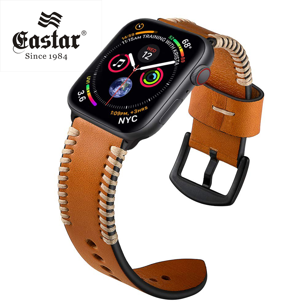 Handmade Watch Strap For Apple Watch Band 42mm 38mm For IWatch 4/5 40mm 44mm Watchband For Apple Watch Series 1&2&3&4&5