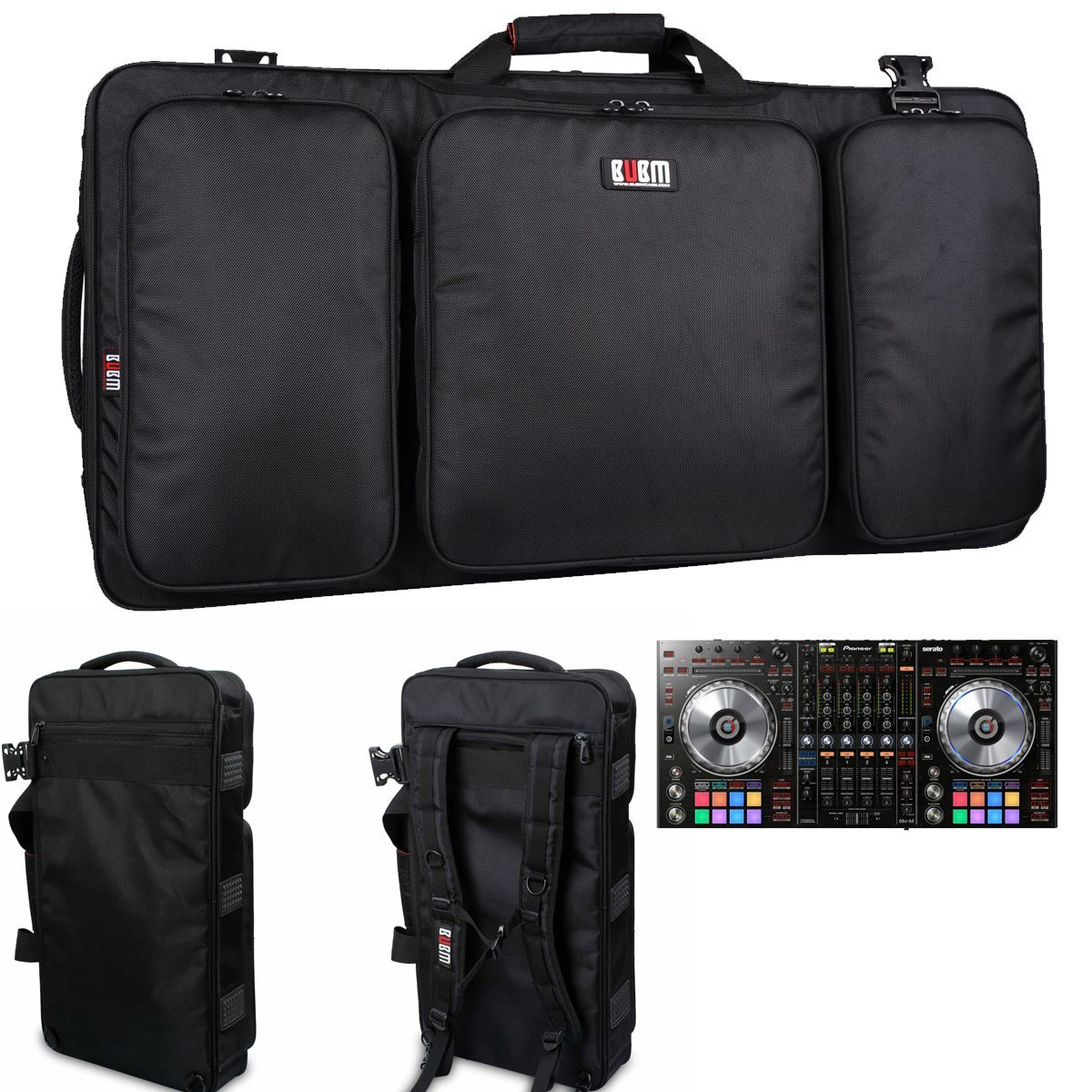 BUBM Shockproof Carrying Camera Case for Gopro Hero Professional Protector Bag Travel Packsack For Pioneer Pro DDJ SZ DJ bubm  professional dj bag for pioneer