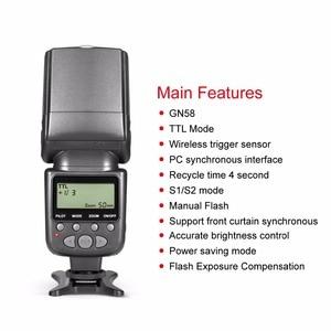Image 4 - Flash meike mk950 i ttl speedlite 8, controle brilhante para nikon d7100 d7000 d5300 d5200 d5100 d5000 d3100 d750 d600 d90 d80